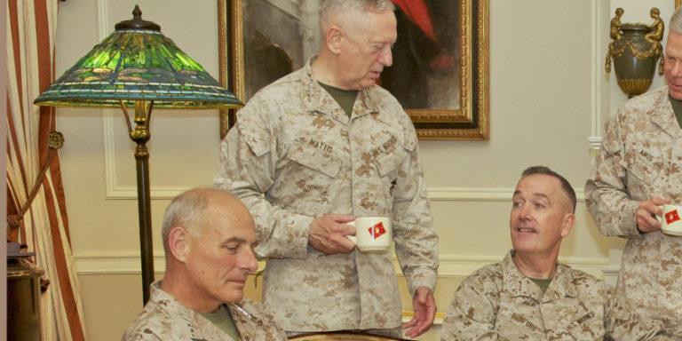 Marine Generals on Trump's Team